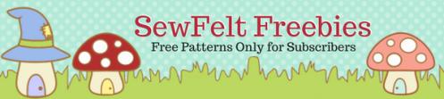 Sewfelt freebies area